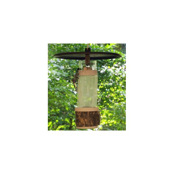 Trampa cdc para mosquitos luz blanca a pilas entomopraxis for Ahuyentar a los gatos del jardin