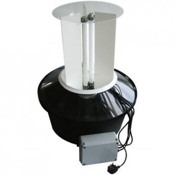 TRAMPA LUZ ROBINSON DOS TUBOS 30 W, 220 V, LUZ ACTINICA, DIAMETRO 65 cm