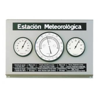 ESTACION METEOROLOGICA DE PARED METAL