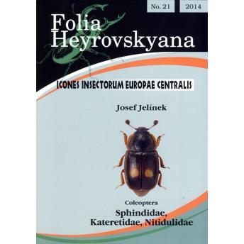 JELINEK - ICONES INSECTORUM EUROPAE CENTRALIS. 21. COLEOPTERA SPHINDIDAE, KATERETIDAE, NITIDULIDAE