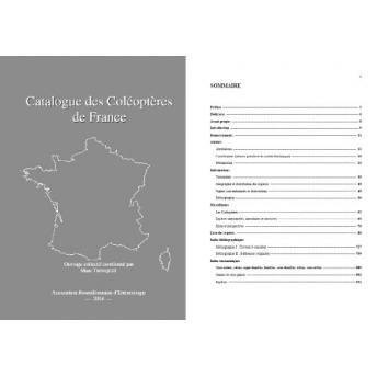 TRONQUET - CATALOGUE DES COLÉOPTÈRES DE FRANCE