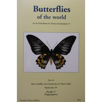 BAUER & FRANKENBACH  (SCHÄFFLER, RUMBUCHER, DUFEK) - BUTTERFLIES OF THE WORLD, Part 41