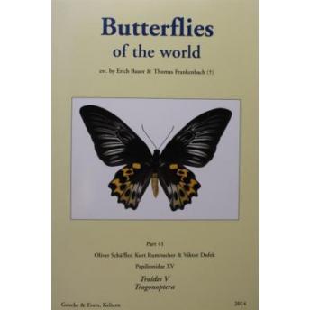 BAUER & FRANKENBACH (SCHÄFFLER, RUMBUCHER, DUFEK) - BUTTERFLIES OF THE WORLD, Part 41