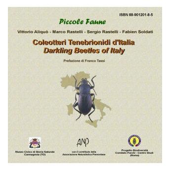 ALIQUÒ, RASTELLI & SOLDATI - COLEOTTERI TENEBRIONIDI D'ITALIA - DARKLING BEETLES OF ITALY