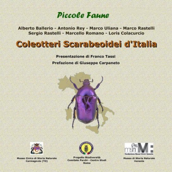 BALLERIO - COLEOTTERI SCARABEOIDEI D'ITALIA