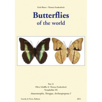 BAUER & FRANKENBACH - BUTTERFLIES OF THE WORLD, Part 35
