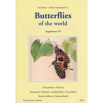 BAUER & FRANKENBACH - BUTTERFLIES OF THE WORLD. Parnassiinae (Partim), Parnassiini (Partim)