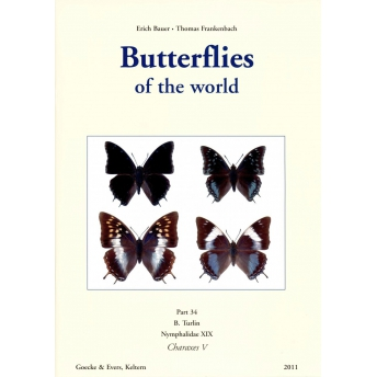 BAUER & FRANKENBACH (TURLIN) - BUTTERFLIES OF THE WORLD, Part 34