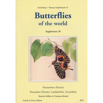 BUTTERFLIES OF THE WORLD - BAUER & FRANKENBACH