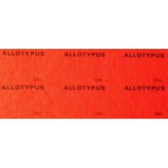 ALLOTYPUS 20