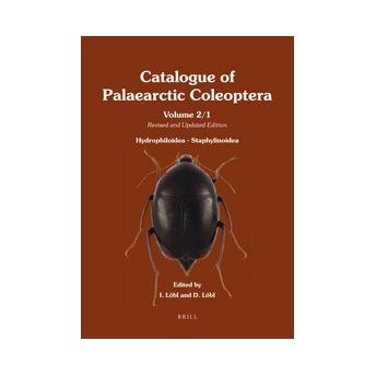 LÖBL & LÖBL - CATALOGUE OF PALAEARCTIC COLEOPTERA 2: HYDROPHILOIDEA - STAPHYLINOIDEA