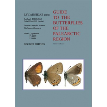 BOZANO (WEIDENHOFFER, BOZANO, ZHDANKO & CHURKIN) 2016 GUIDE TO THE BUTTERFLIES OF THE PALEARCTIC REGION, LYCAENIDAE PART II, SUB