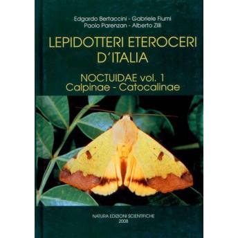 BERTACCINI ET AL. - LEPIDOTTERI ETEROCERI D'ITALIA. NOCTUIDAE Vol. 1: Calpinae - Catocalinae