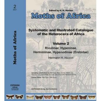 HACKER, H. (EDIT.) - MOTHS OF AFRICA 2: EREBIDAE SUBFAMILIES RIVULINAE, HYPENINAE, HERMINIINAE, HYPENODINAE.