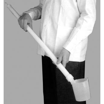 DIPPER O RECOLECTOR DE AGUAS, MANGO 183 cm