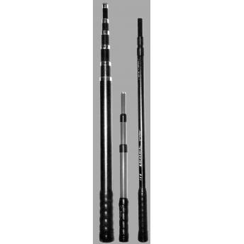 MANGO TELESCOPICO DURALUMINIO 33-70 cm