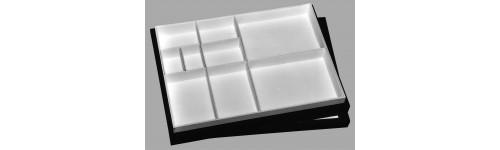 Cajas con compartimentos extraíbles